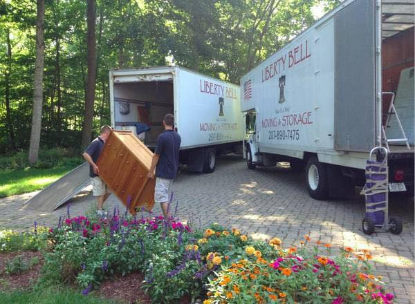 Movers in Rangeley, Maine